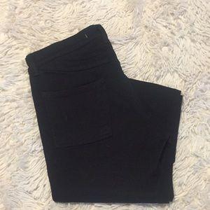 J Brand Black Skinny Jean 27 x 34